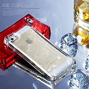 TOPMM Calls Flash Shockproof TPU Glassy Ice Case for iPhone 5/5S(Assorted Colors)