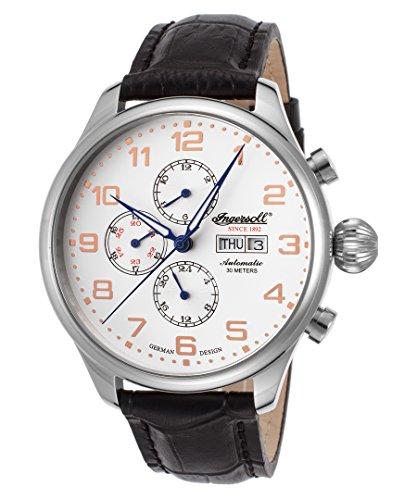 Ingersoll Men's IN3900SL Apache Fine Automatic Timepiece Silver Case Watch