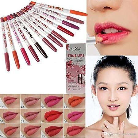 Generic Menow 12 Pcs Lip Liner Marker Pen Pencil Lip Liners at amazon
