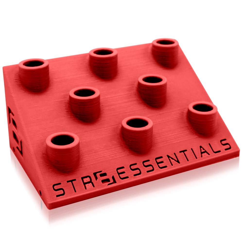 STR8 Brand STR8 Essentials Nail And Slide Display (14mm, Fury Red) by STR8 Brand