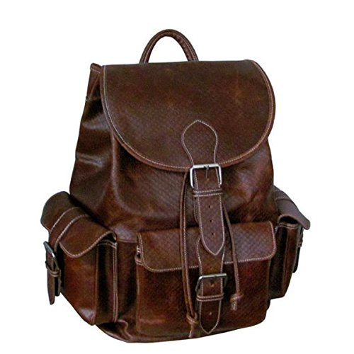 amerileather-vacationer-jumbo-leather-backpack-brown-python