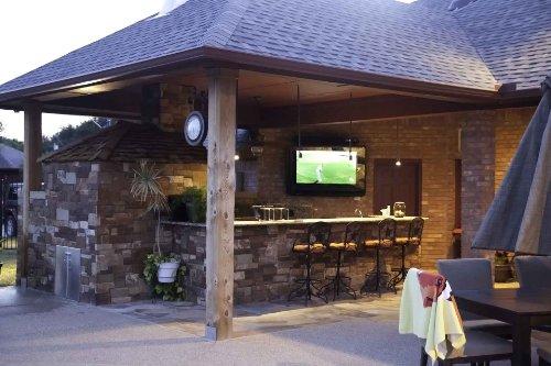 outdoor tv enclosure plans reviews amazon the shield inch indoor case cabinet screen protector electronics diy