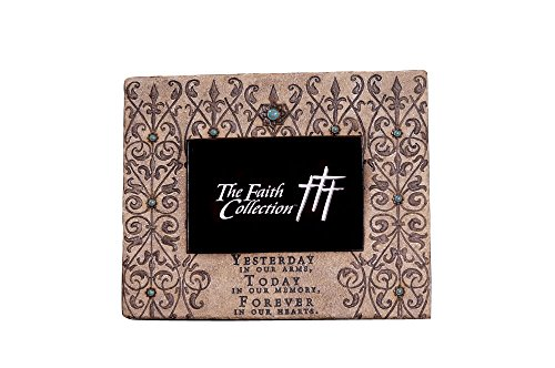 The Faith Collection FC-1331 Resin Forever Memorial Frame, 6'' x 4'' by Faith Collection