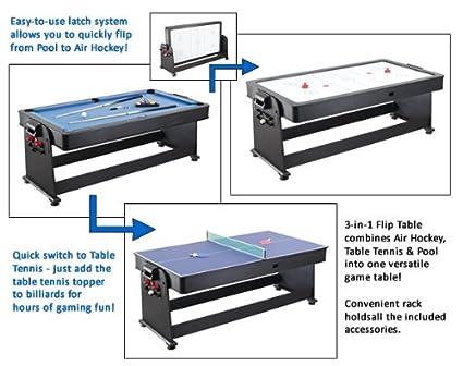 Merveilleux 6 Ft. Triple Threat 3 In 1 Flip Table