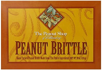 The Peanut Shop of Williamsburg Brittle, 10 Ounce