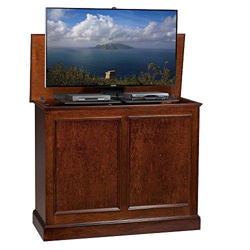 Plasma Tv Lifts Furniture (TVLiftCabinet, Inc Carousel Caramel TV Lift Cabinet)