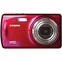 Cobra Digital DCA1250-RED Digital Camera with 8x Optical Zoom and 2.7-Inch LCD Screen (Red)