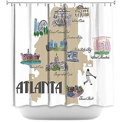 DiaNoche Designs Bathroom Shower Curtains By Markus Bleichner