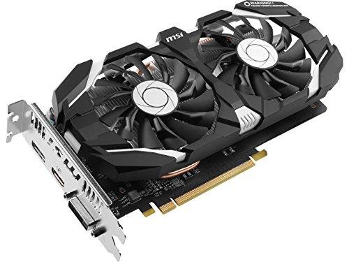MSI GeForce GTX 1060 DirectX 12 GeForce GTX 1060 6GT V1 6GB 192-Bit GDDR5 PCI Express 3.0 x 16 HDCP Ready ATX Video Card Model GeForceGTX1060 6GV1