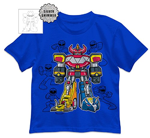 Power Rangers Little Boys' Ranger Patches Tee -