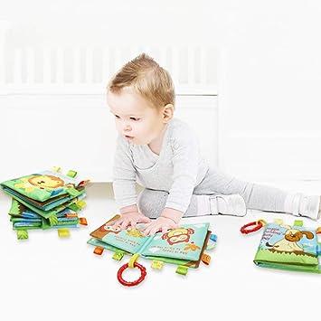 Ensemble Livre En Tissu Pour Bebe Livres Interactifs Pour