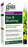 Gaia Herbs Gas and Bloating Supplement, Vegetarian Capsules, 50 count – Eliminates Gas, Improves Digestive Function, Activated Charcoal and Fennel Review