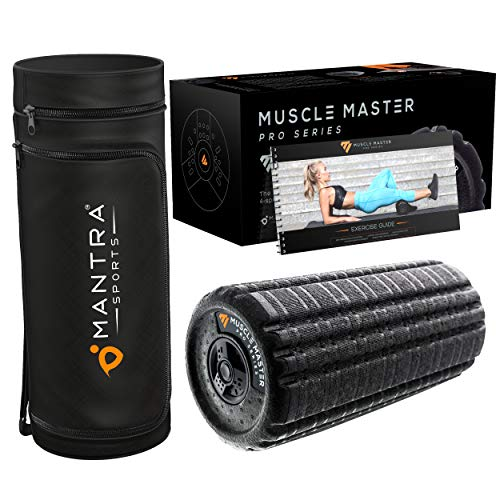 Deep Tissue Vibrating Foam Roller for Physical Therapy & Exercise | Back Stretcher & Body Massager for Self-Myofascial Joint Release, Trigger Point Muscle Therapy, Stress Relief Massage | Men & Women – DiZiSports Store