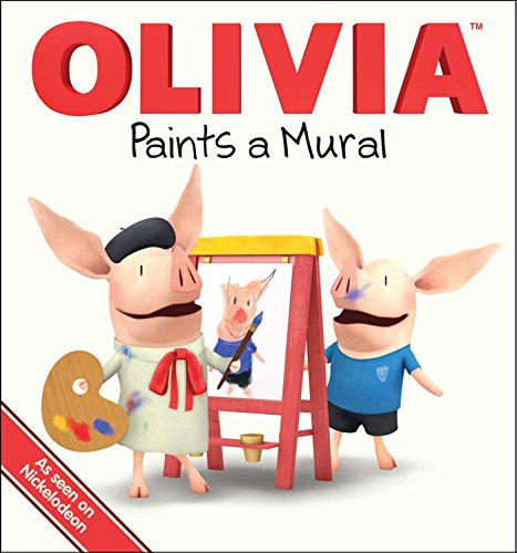 OLIVIA Paints a Mural -
