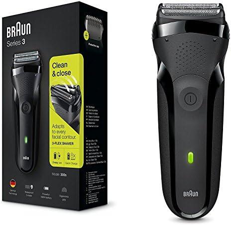 Braun Series 3 Shave&Style 300BT, Afeitadora eléctrica 3 en 1, maquinilla para hombre con recortadora de precisión para la barba, 5 peines, color negro: Braun: Amazon ...