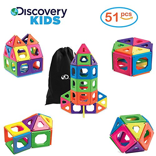 The 4 best discovery kids magnetic tile set 24 2019