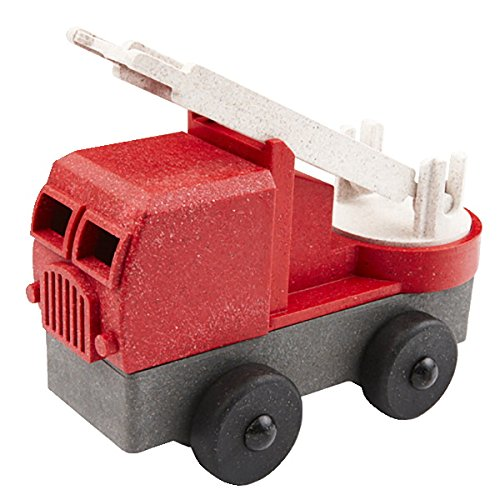 Luke's Toy Factory Eco-Friendly 3-D Puzzle Fire Truck made in Connecticut
