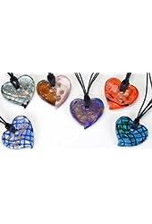 Heart Assorted Precious Gemstone Accessory Necklace Pendant Jewelry