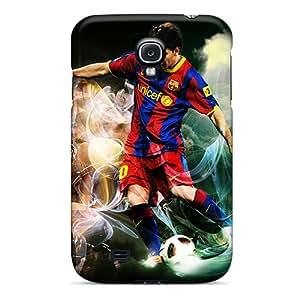 Premium Durable Lionel Messi Fashion Tpu Galaxy S4 Protective Case Cover