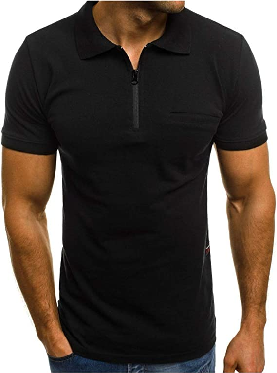 Freely Mens Business Plus Size Silm Fit Long-Sleeve Polo Shirt