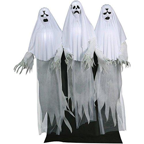Haunting Ghost Trio Animated Halloween