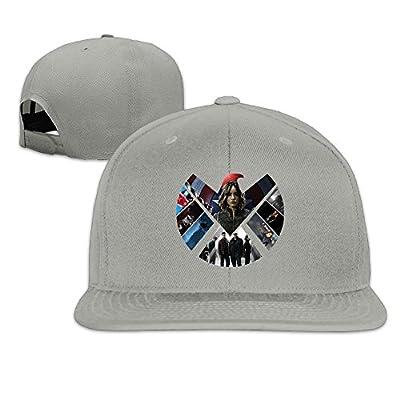 Custom Unisex Special Agent Season Casual Baseball Caps Hat Ash