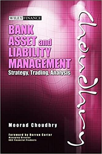 Bank Asset and Liability Management: Strategy Trading Analysis (Wiley Finance)