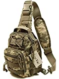 TravTac Stage II Sling Bag, Small Premium EDC Tactical Sling Pack 900D