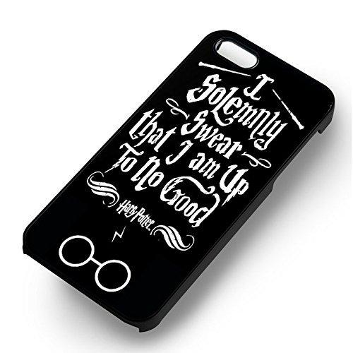 Unique I Solemnly Swear Harry Potter pour Coque Iphone 5 or Coque Iphone 5S or Coque Iphone 5SE Case (Noir Boîtier en plastique dur) Y2N8LX