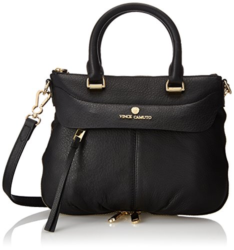 Vince Camuto Dean Small Satchel, Black, One Size