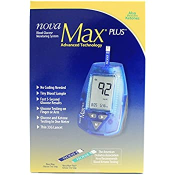 Amazon Com Nova Max Link Meter Health Amp Personal Care