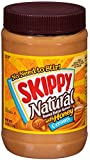 Skippy Peanut Butter, Creamy and Natural with Honey, 40 Ounce