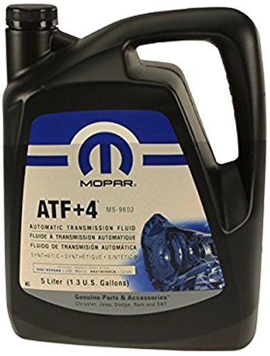 - Mopar Automatic Transmission Fluid, 5 Liter