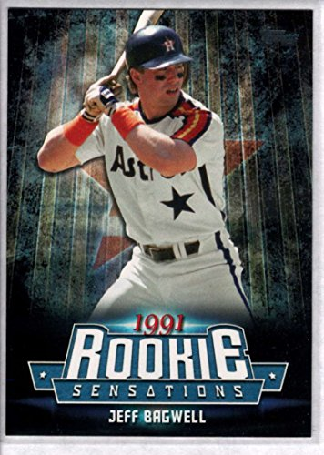 - 2015 Topps Update Rookie Sensations #RS-13 Jeff Bagwell Astros Baseball Card NM-MT