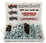 150pc Specbolt Honda Utility ATV Bolt Kit for Maintenance & Restoration OEM Spec Fasteners Quad Foreman 4x4 Rubicon GPScape Four Trax 4x4 Rancher Recon Rincon