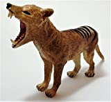 Thylacine Figure, Tasmanian Tiger, Lifelike Wildlife Model, Exquisitely Detailed