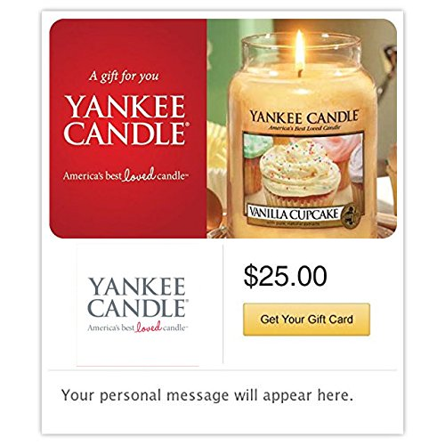 Yankee Candle Gift Cards - E-mail Delivery