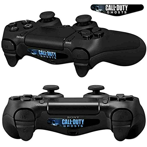 Mod Freakz Pair of LED Light Bar Skins COD Hat Military Ghost for PS4 (Call Led)