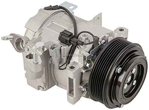 AC Compressor & A/C Clutch For Infiniti G35 G37 M35 Replaces Calsonic DCS17EC - BuyAutoParts 60-02425NA NEW ()