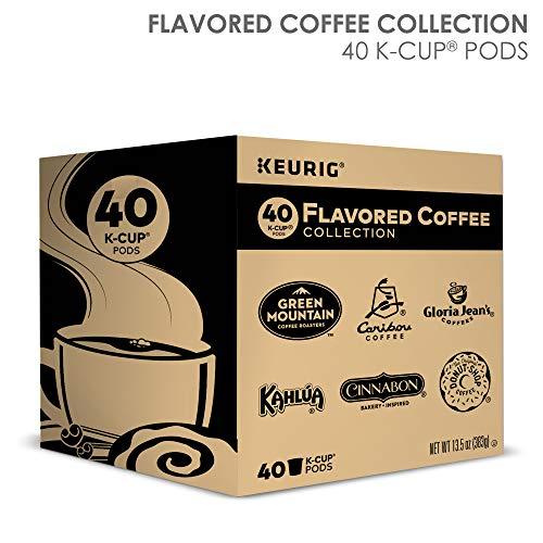 K-Cup Flavored Variety Sampler, Keurig Single-Serve K-Cup Pods, 40 Count in USA