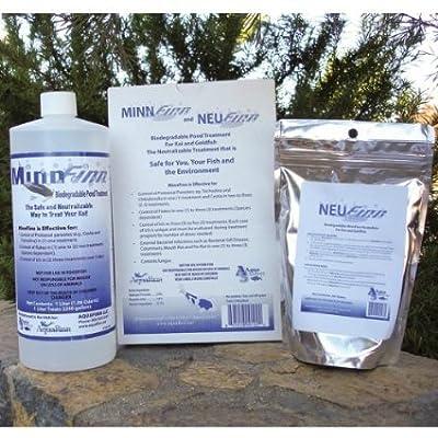 MinnFinn and NeuFinn Biodegradable Pond Treatment