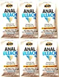 [6 Pack Bundle] Body Action Male or Female Intimates Anal/Skin Lightening Bleach Sample Size by Body Action