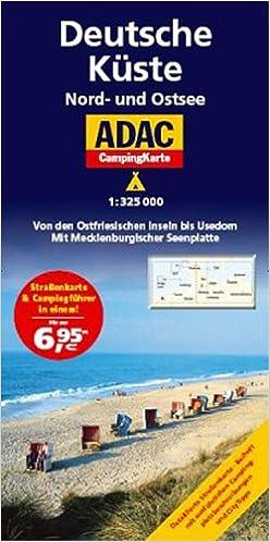 Adac Camping Karte Deutsche Kuste Camping Und Caravaning Amazon