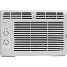 Frigidaire FFRA0511R1 5, 000 BTU 115V Window-Mounted Mini-Compact Air Conditioner with Mechanical Controls