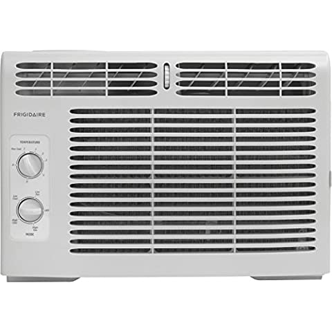Frigidaire FFRA0511R1 5, 000 BTU 115V Window-Mounted Mini-Compact Air Conditioner with Mechanical Controls, 15 x 16 x 12 (Appliances)