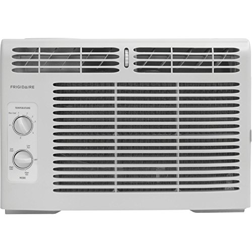 Window-Mounted Mini-Compact Air Conditioner with Mechanical Controls