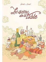 Les Illustres de la Table par Mathieu Burniat