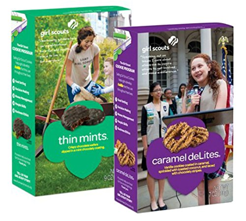 (Girl Scout Cookies - Thin Mints And Caramel De Lites - 1 Box Of Each)