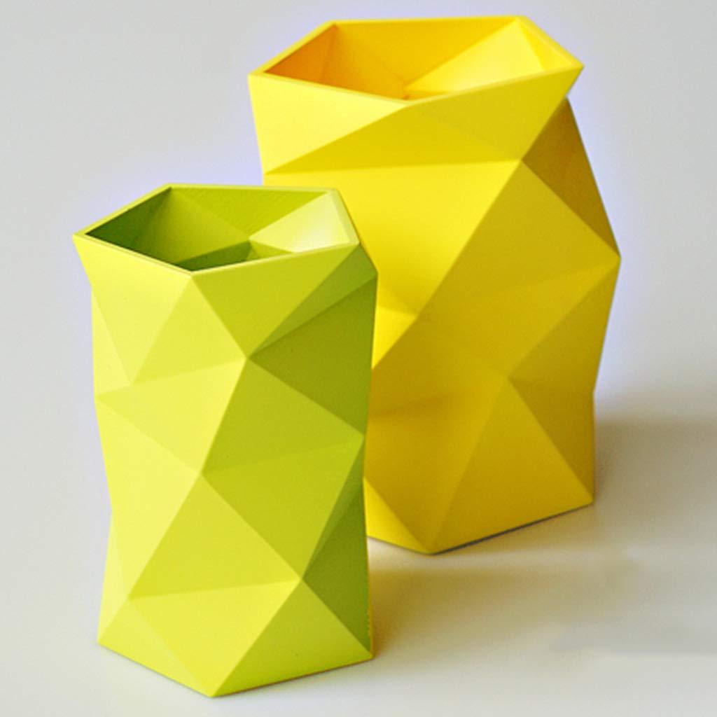 Estuche para Creativa, bolígrafos, Moda Creativa, para Fresco pequeño, Estudiante, Escritorio de Oficina, papelería, decoración de habitación Modelo (Color : Amarillo) af7101