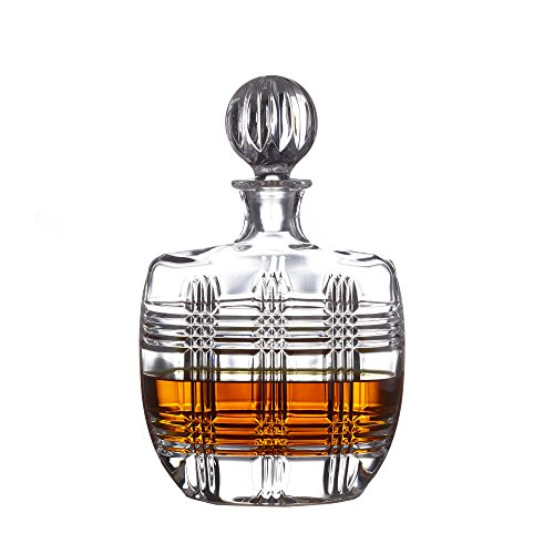 Fitz and Floyd 306051-GB Bridgeport Whiskey Decanter, Clear